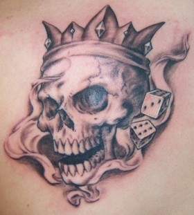 King cranial on the body