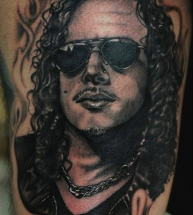 Kirk tattoo by Art Junkies