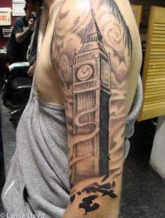 Large and dark BigBen