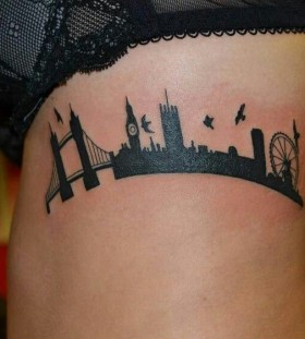 London in my arm