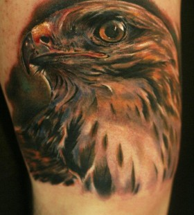 Lovely eagle tattoo by Seunghyun JO aka Potter