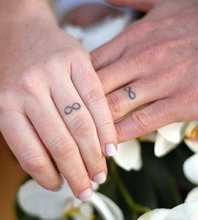 Lovely fingers math tattoos