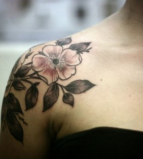 Lovely tattoo by Alice Carrier