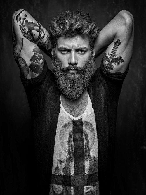 Man tattoo