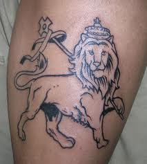 Nice lion tattoo