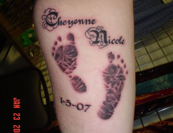 Nice tattoo with names