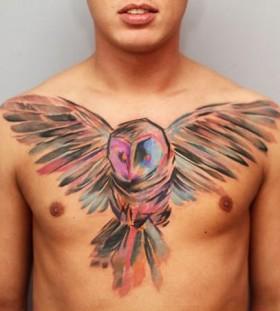 Owl Ondrash Tattoo