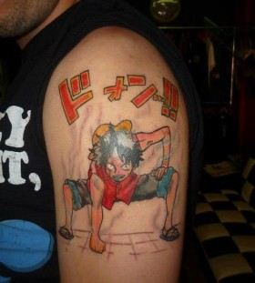 Perfect tattoo of anime