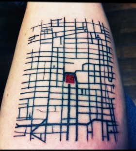Physic architecture tattoos