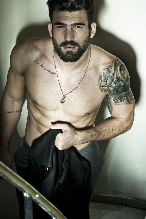 Pretty man tattoo