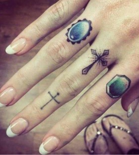 Rings tattoo