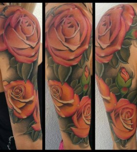 Rose tattoo by Art Junkies
