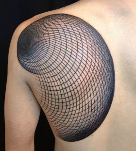 Shoulder tattoo by Miah Waska
