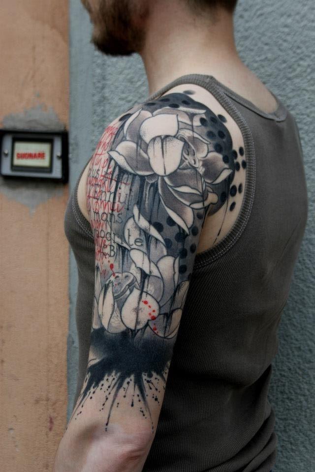 Shoulder Tattoo By Pietro Romano Tattoomagz Tattoo Designs Ink Works Body Arts Gallery