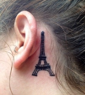 Simple architecture tattoos