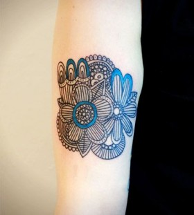 Simple tattoo by Lisa Orth