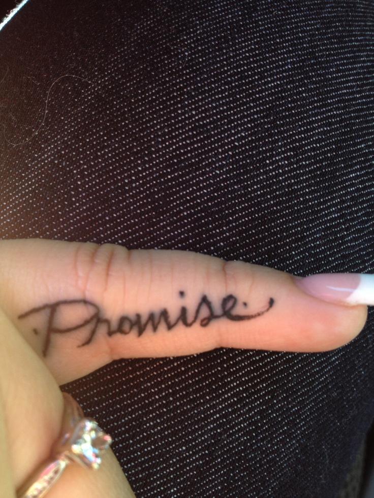 Fingers simple tattoos