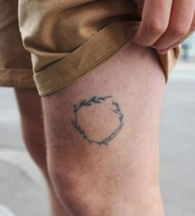 Small minimalistic style tattoo