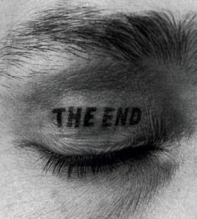 The end eye tattoo
