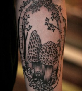 Trees tattoo by Alice Carrier