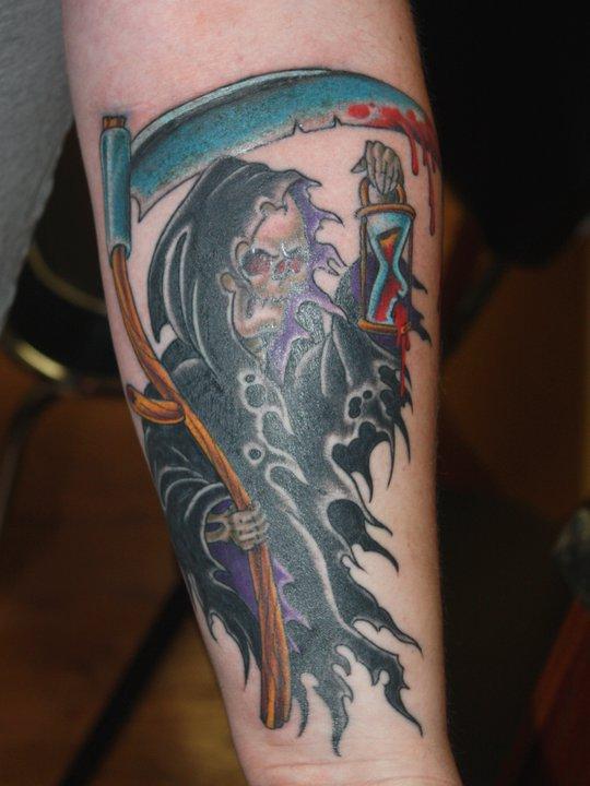 Vampire tattoo by Mike Schweigert