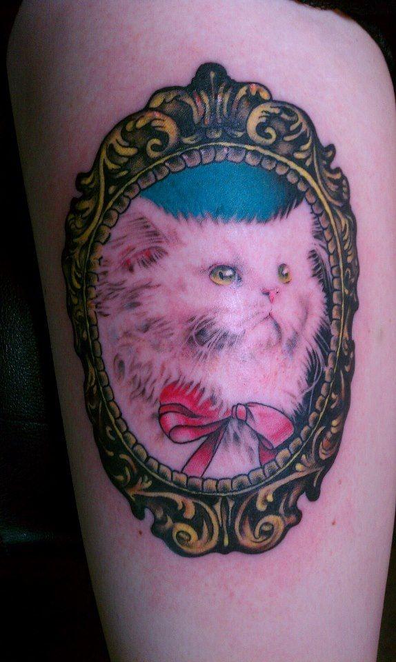 Cute cats tattoo