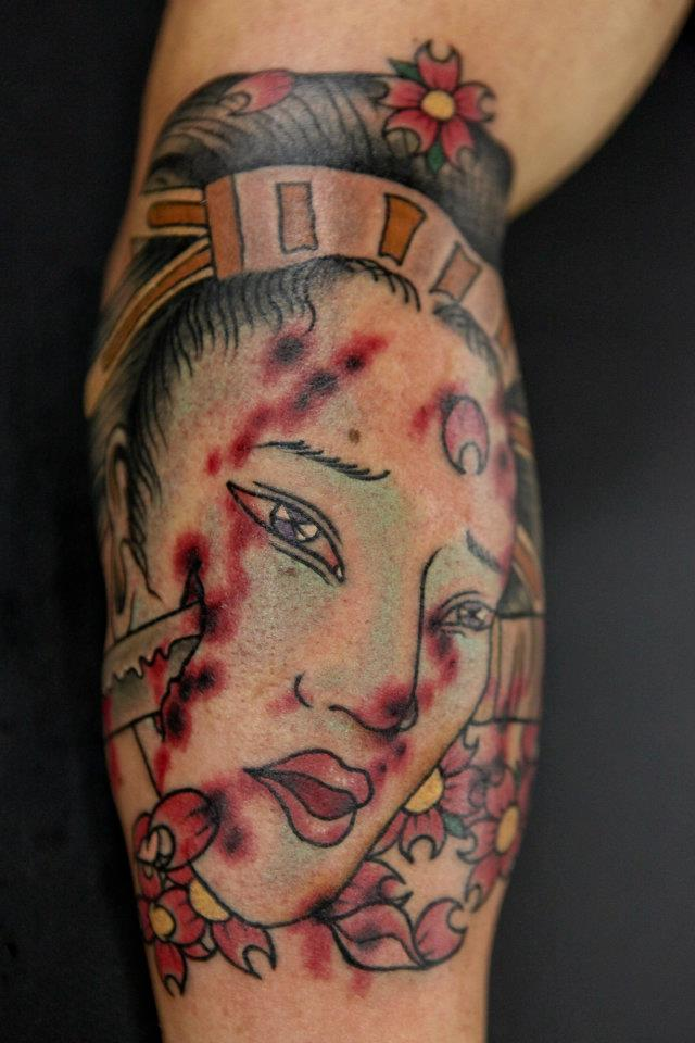 Tattoos by Seunghyun JO aka Potter
