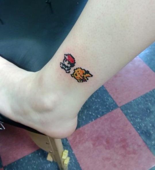 Yellow-tattoo