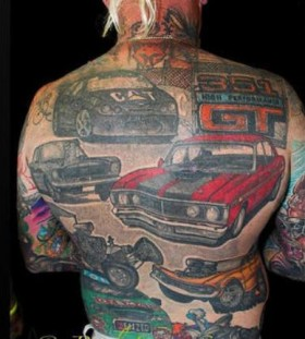 amazing car tattoos