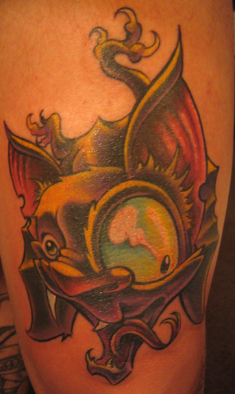 big eye bat
