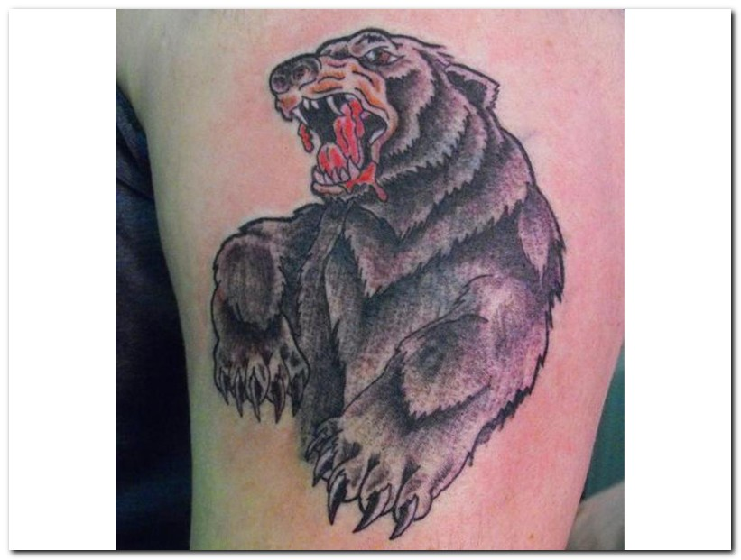 blooding bear