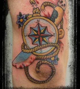 compass dagger