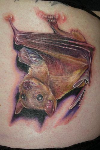 cut bat on back shoulder
