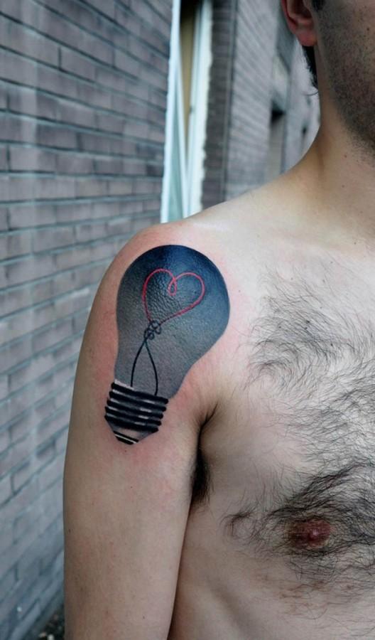 famous blue bulb