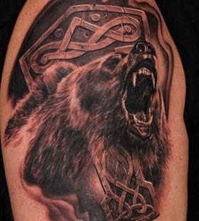 fantastic realistic bear