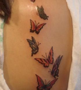 five Butterfly