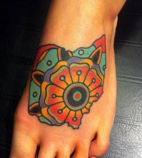 foot-mandala