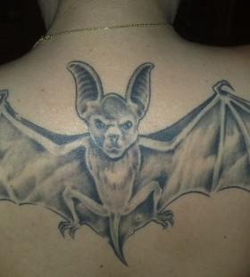 grey large bat