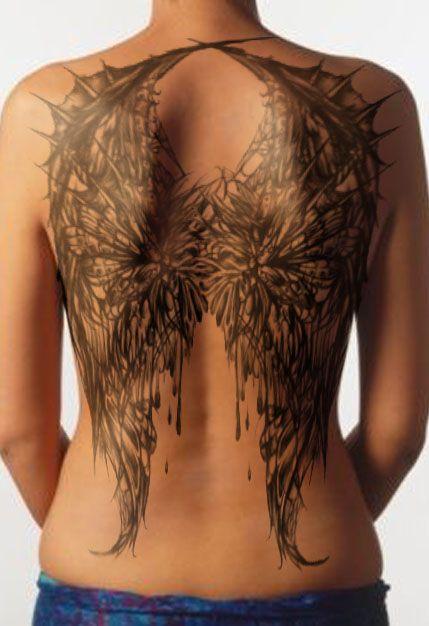 large angel winged