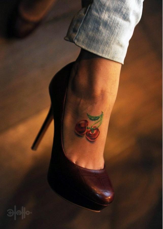little cherry on foot