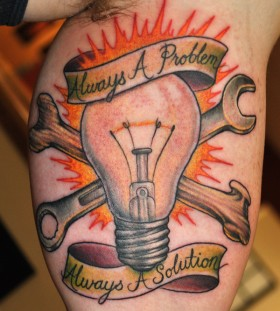 meaningful colored bulb