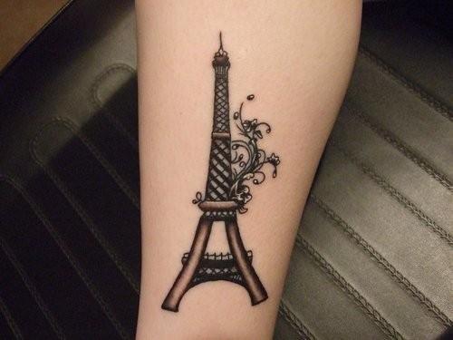 mini black Eiffel tower