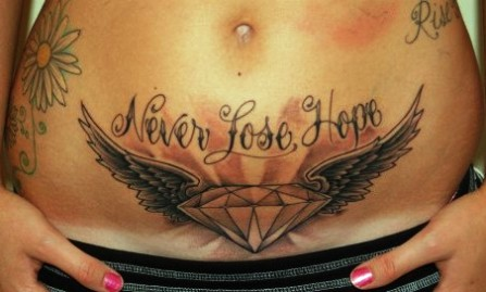never loose hope diamond