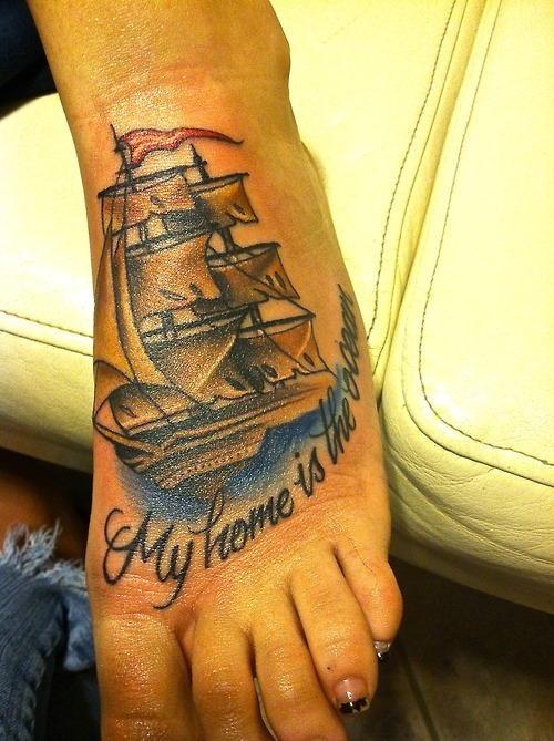 ocean home ship