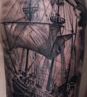 old fashion ship