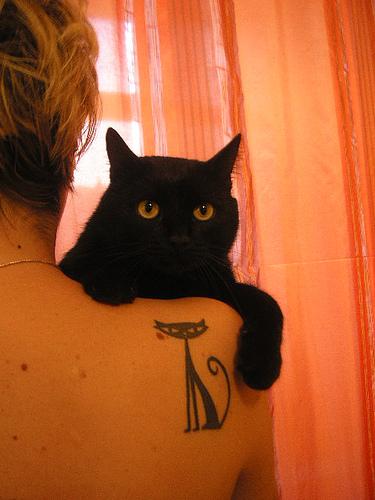 original cat tatto