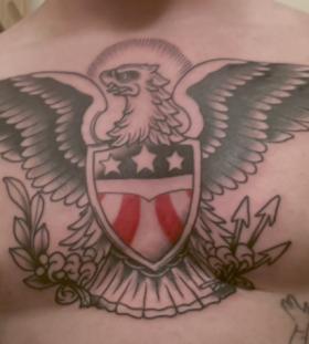 patriotic chest ink