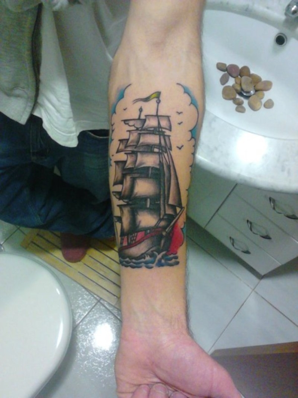 ship with sails