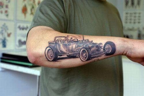 stylish old car