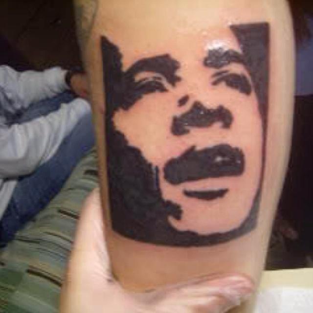 Amaizing american president tattoo